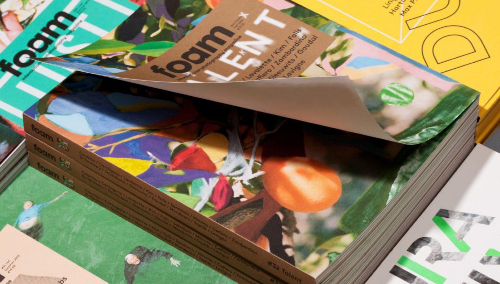 Maarten Kanters - FOAM Magazine # 32 Talent – magazine design